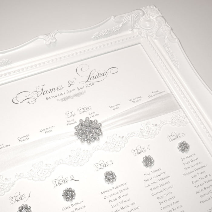 HEIRLOOM Table Seating Plan | Wedding Stationery | CeremonialsUK.com