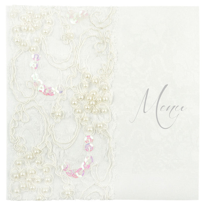 LACE Menu | Wedding Stationery | CeremonialsUK.com