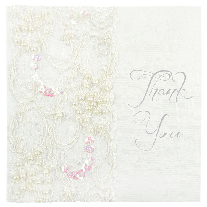 LACE Thank You Card | Wedding Stationery | CeremonialsUK.com