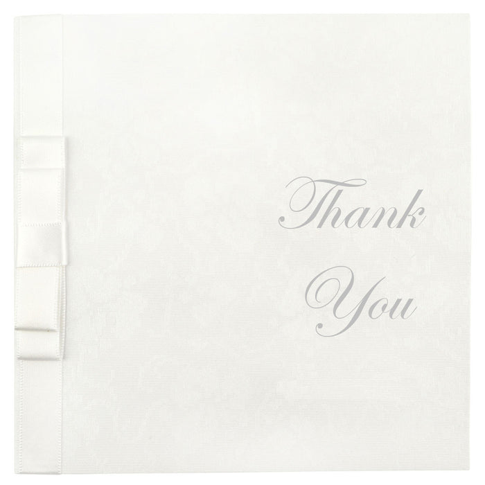 LUSTRE Thank You Card | Wedding Stationery | CeremonialsUK.com