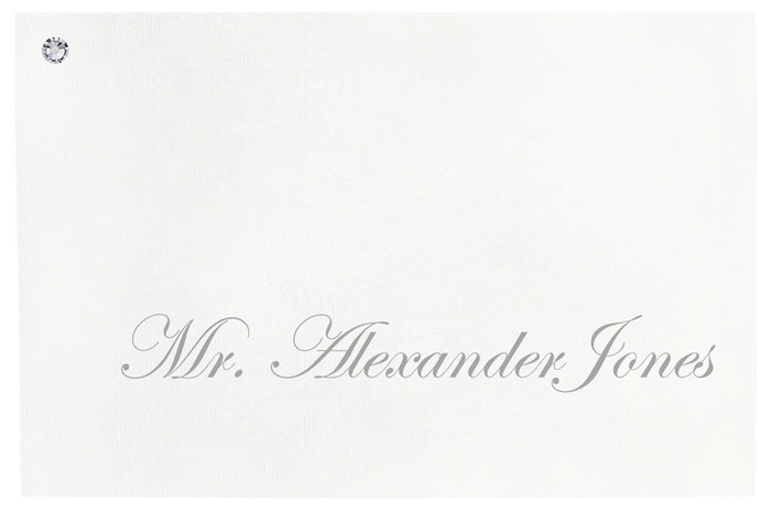 LUSTRE Place Card | Wedding Stationery | CeremonialsUK.com
