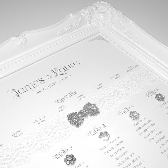 PRIMA Table Seating Plan | Wedding Stationery | CeremonialsUK.com