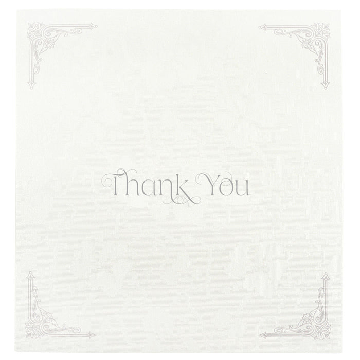 REGENCY Thank You Card | Wedding Stationery | CeremonialsUK.com