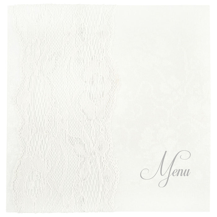 WHISPER Menu | Wedding Stationery | CeremonialsUK.com