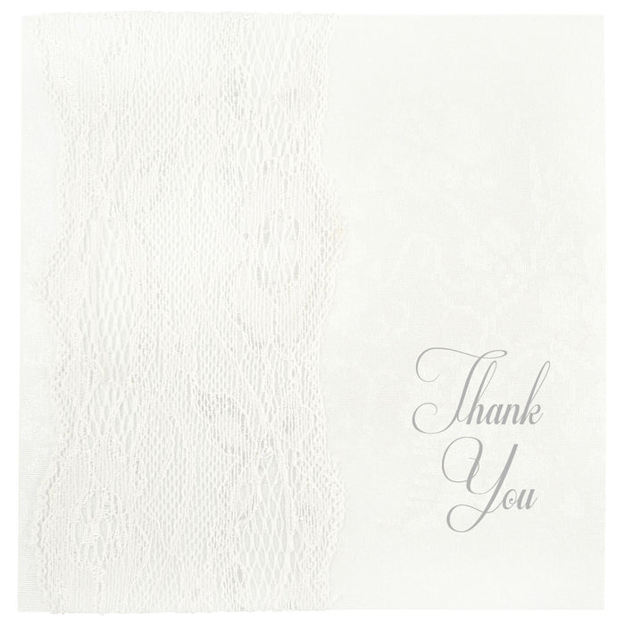 WHISPER Thank You Card | Wedding Stationery | CeremonialsUK.com
