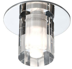 Decorative Round Glass Fitting (comes with lamp)-Bathroom-Smart Lighting World