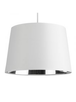 White Tapered Ceiling Light-Pendant Lights-Smart Lighting World