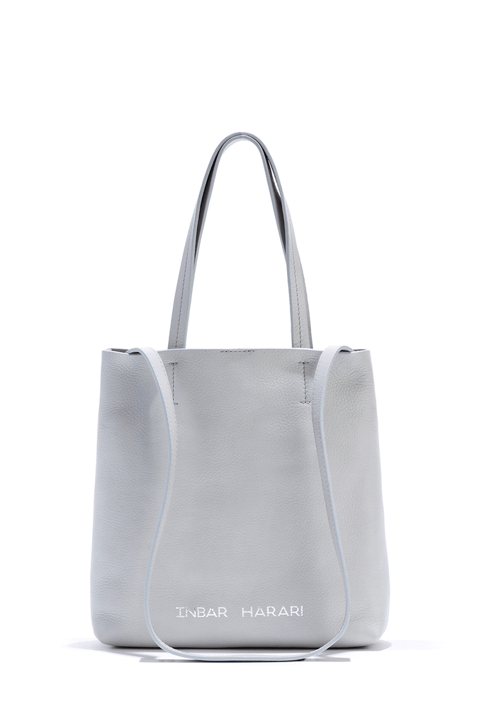 GREY MINI TOTE BAG