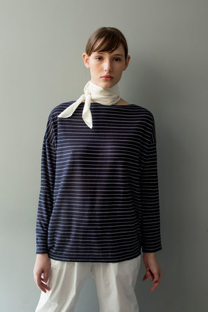 ELIZABETH SHIRT - DARK BLUE
