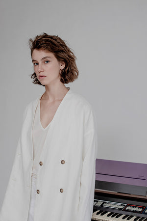 JANE JACKET - WHITE