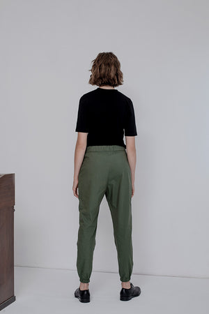 SANDY PANTS - FOREST GREEN