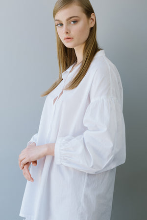 RUBY SHIRT - WHITE