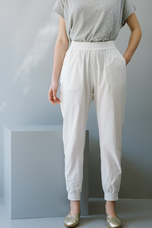 SMOKY PANTS - WHITE