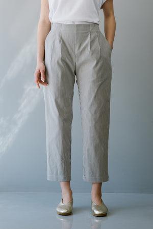 BLUE SKY PANTS - GRAY STRIPES