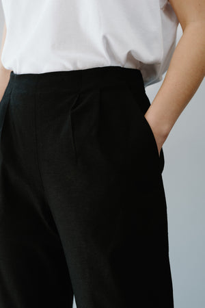 BLUE SKY PANTS - BLACK