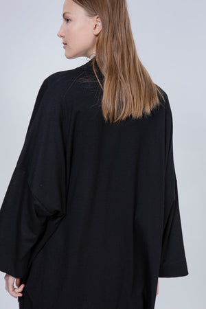 SUNSET COAT - BLACK