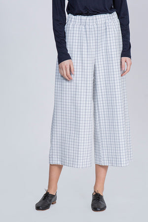 BLUSH PANTS - CHECKERED