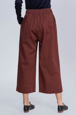 BLUSH PANTS - BROWN