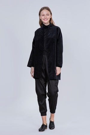 RELAXED COAT - BLACK