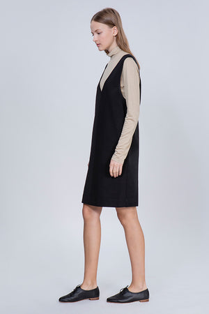 SARAFAN DRESS - BLACK