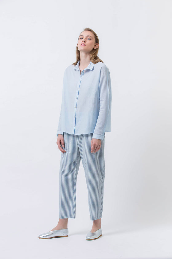 CLOUDS SHIRT - LIGHT BLUE