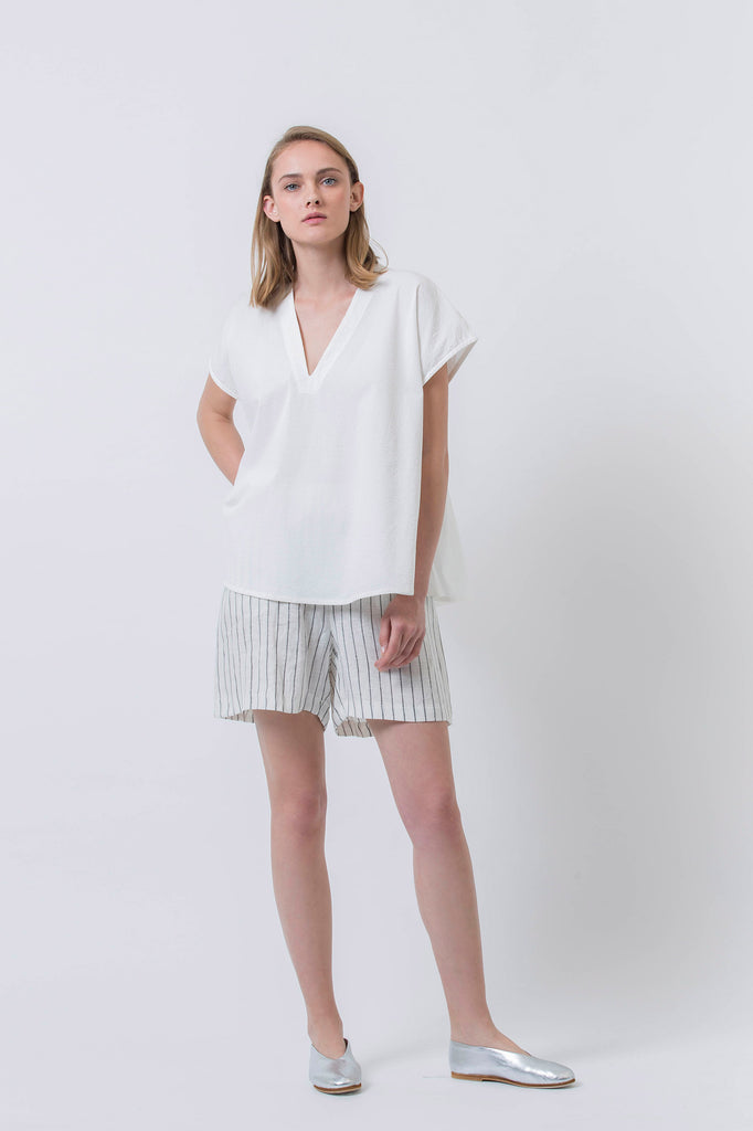 SHINY DAY SHIRT - WHITE
