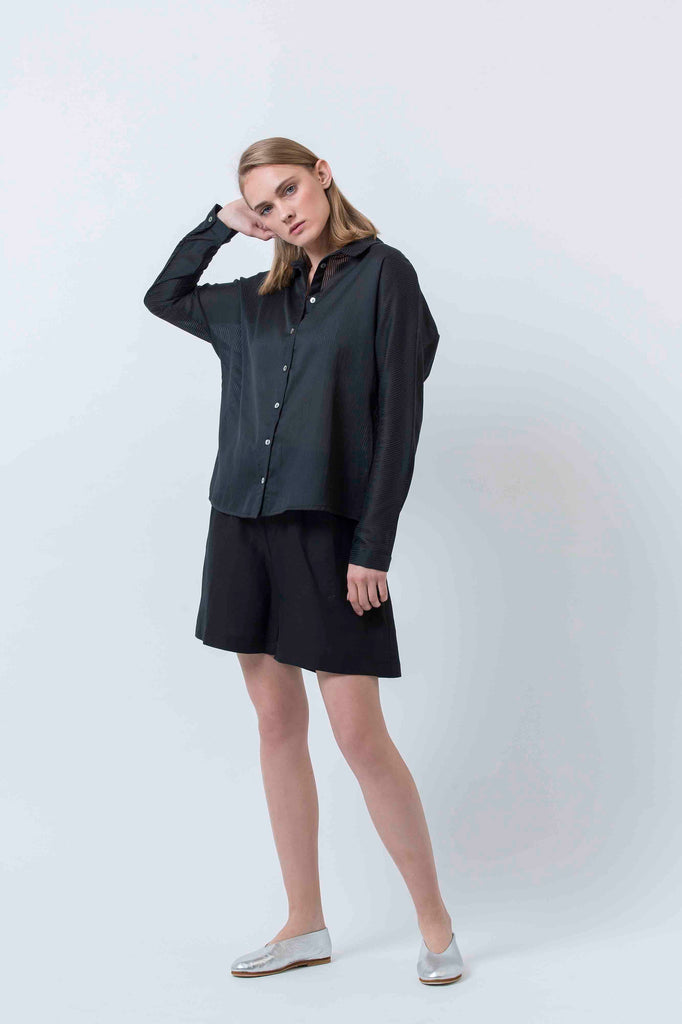 CLOUDS SHIRT - BLACK