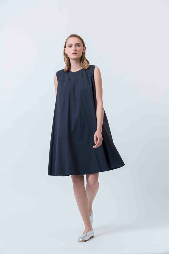 LULLABY DRESS - NAVY