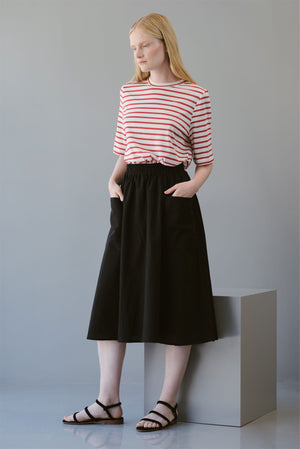 QUARTS SKIRT - BLACK