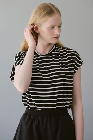OPAL SHIRT - WIDE  STRIPES