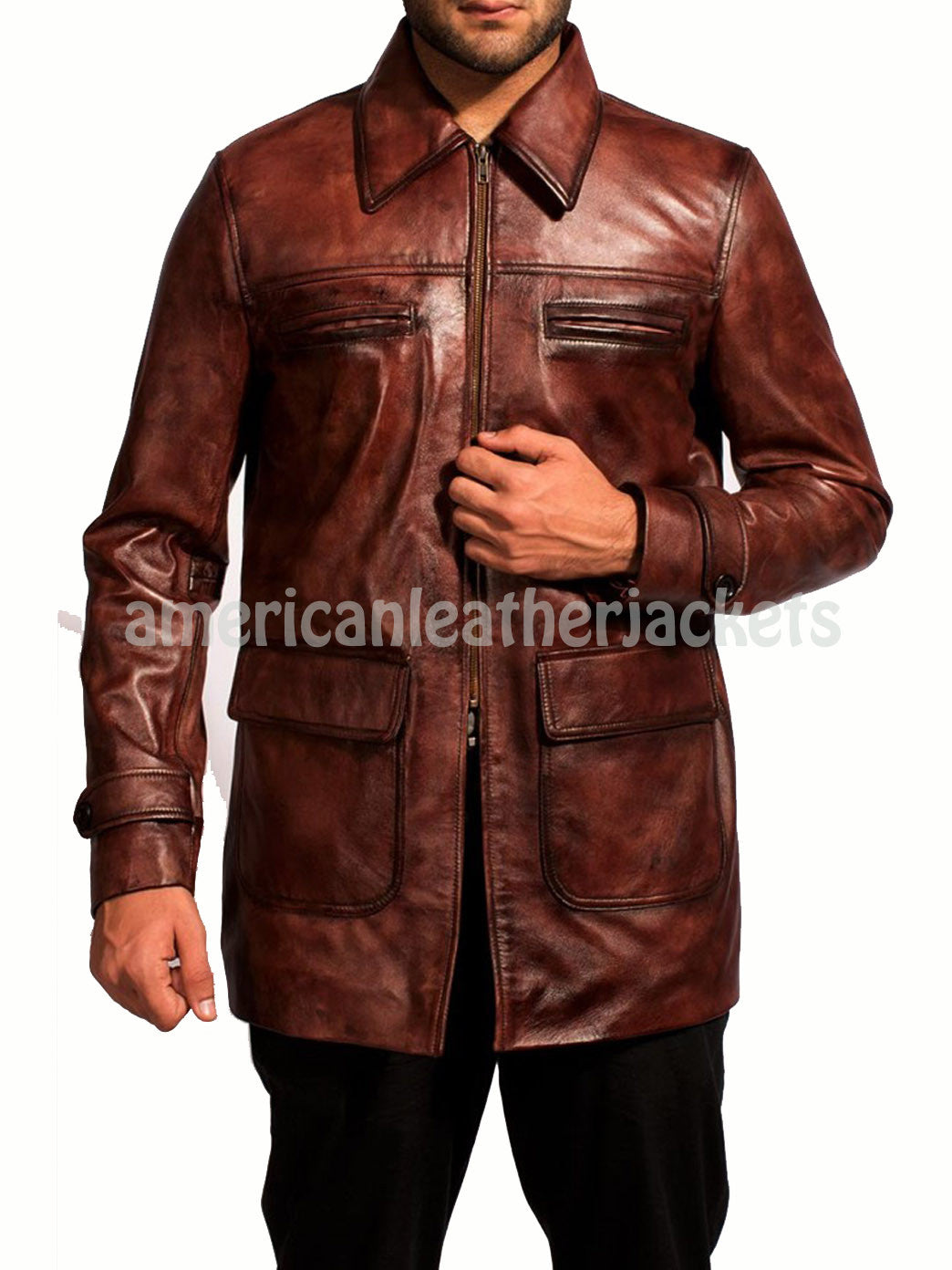 Defiance Daniel Craig Men Leather Jacket