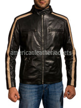 Flash Gordon Eric Johnson Men Leather Jacket