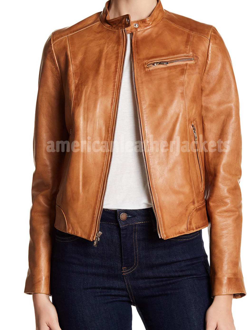 Cool Style Bike Leather Jacket