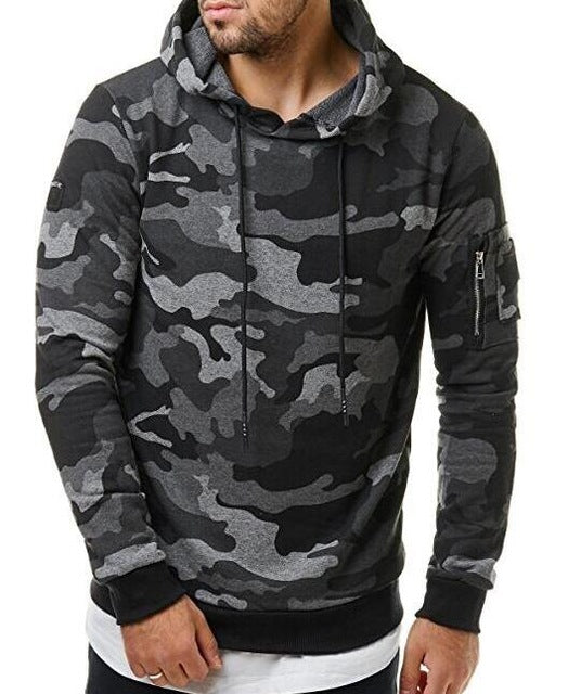 Camouflage Hooded Sweatshirts