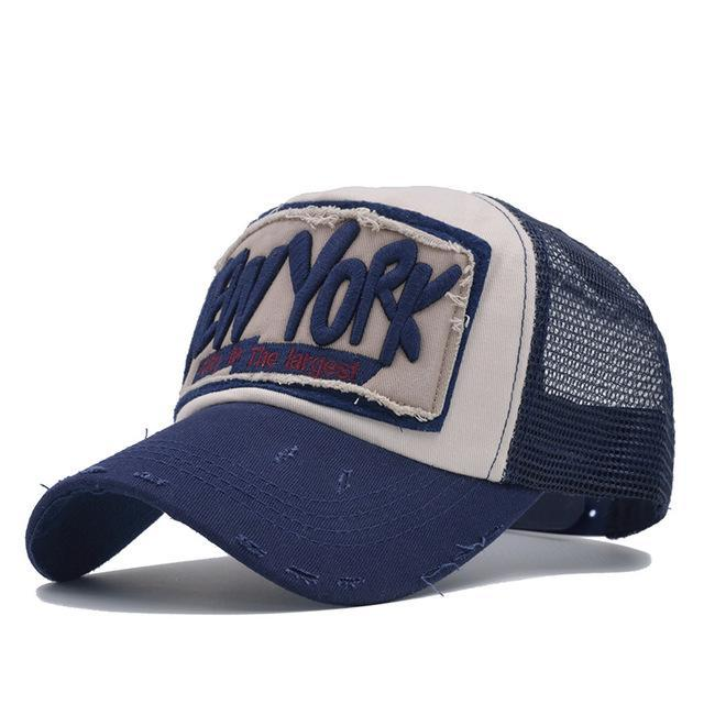 New York Mesh Baseball Caps