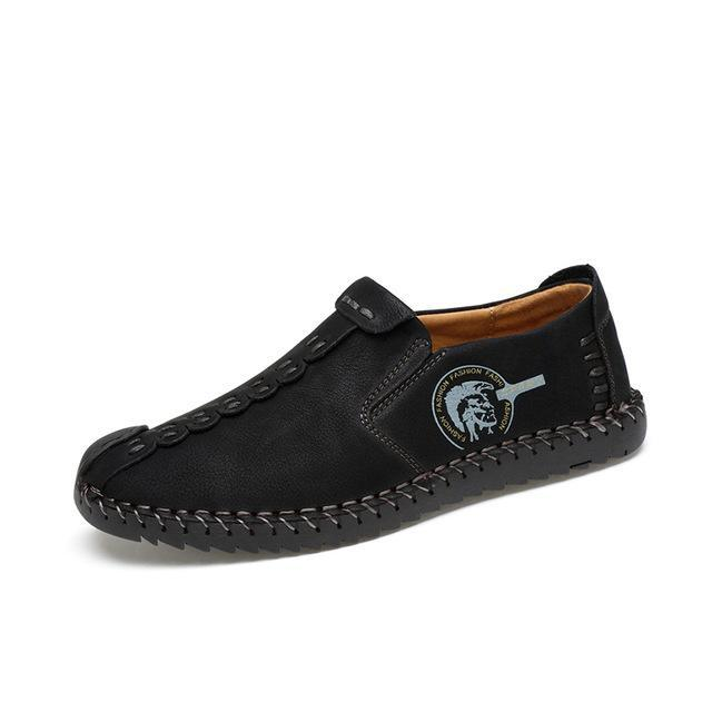 Comfortable Casual Split Loafers