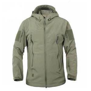 Camouflage Coat Waterproof Jacket