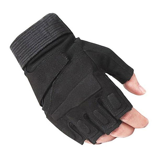 Finger-less Tactical Army Gloves