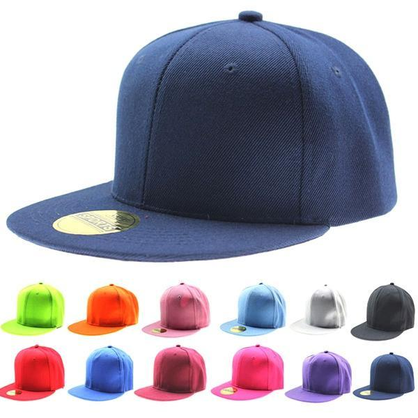Adjustable Flat Hat Visor Caps