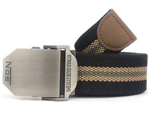 Canvas Western Strap Belts