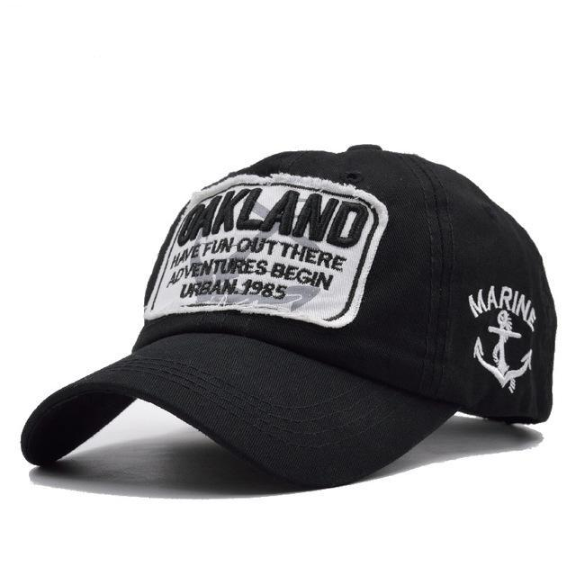 OAKLAND Snap-back Baseball Caps