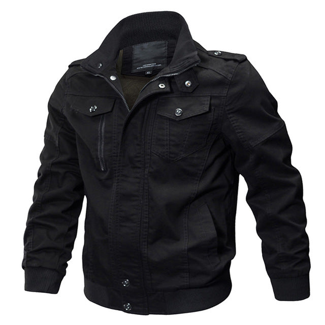 Military Winter Cargo Jacket Coat