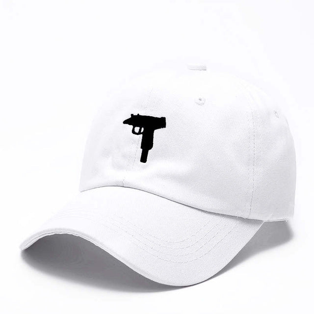 Gun Snap-back Baseball Cap