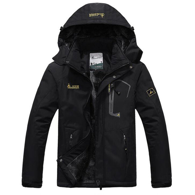 Parka Warm Hooded Coats
