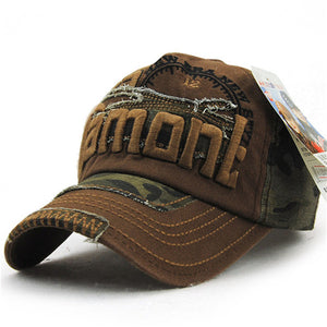 Camouflage Swag Baseball Caps
