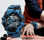 Digital Military Sports Casual Wristwatch