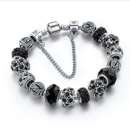 Silver Plated Charm Bracelets For Women