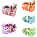 Foldable Stationary Cosmetic Organizer