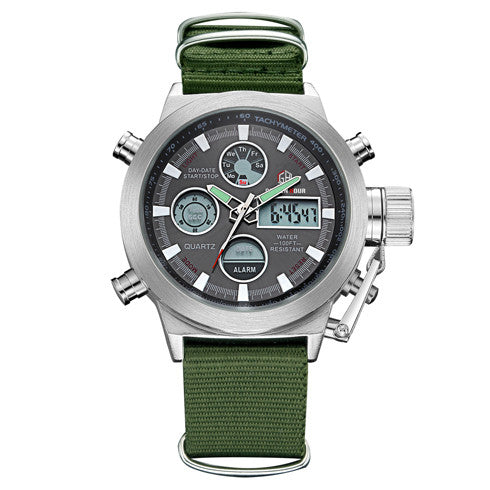 Digital Analog Military Waterproof Watch