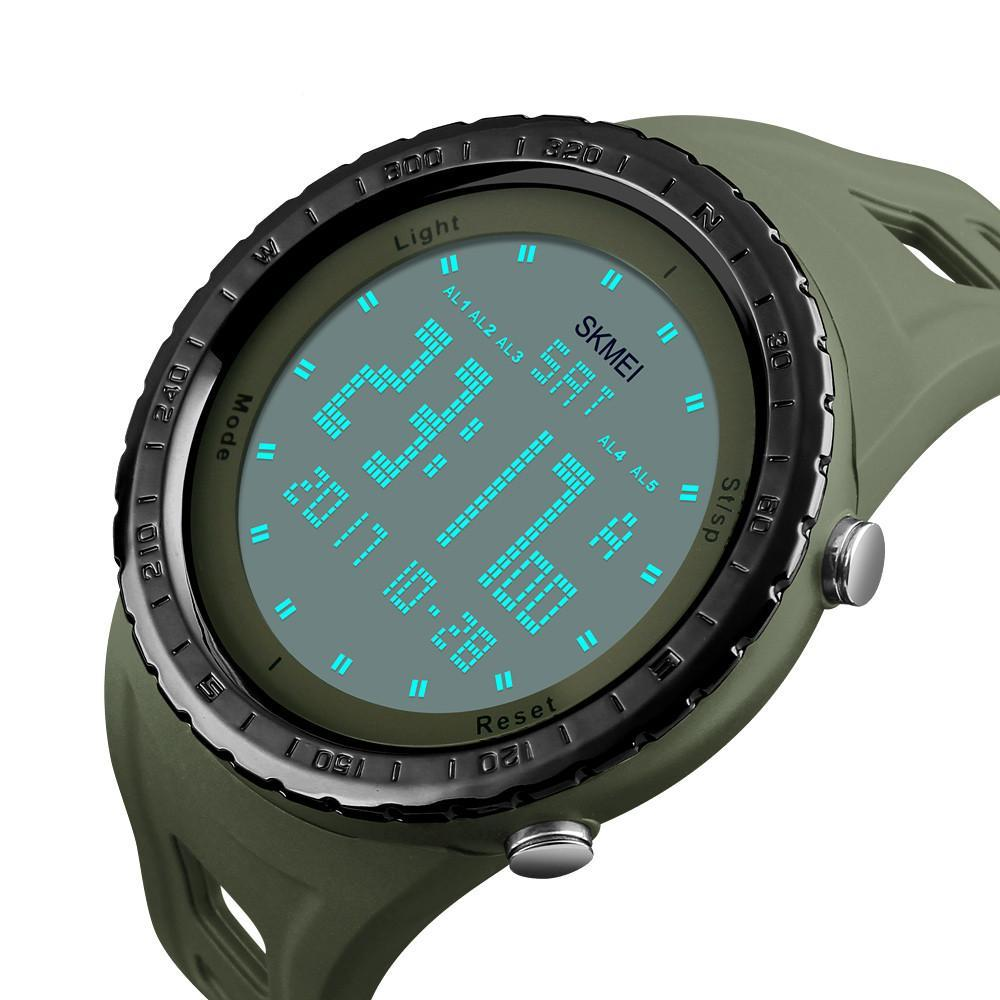 Military Sport LED Digital Waterproof Wristwatch